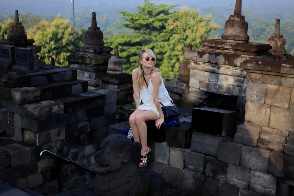 Temple Whites | Borobudur, Indonesia
