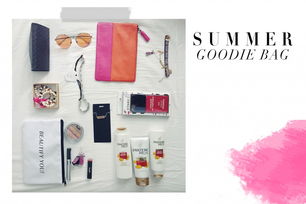 * WIN THE SUMMER GOODIE BAG *