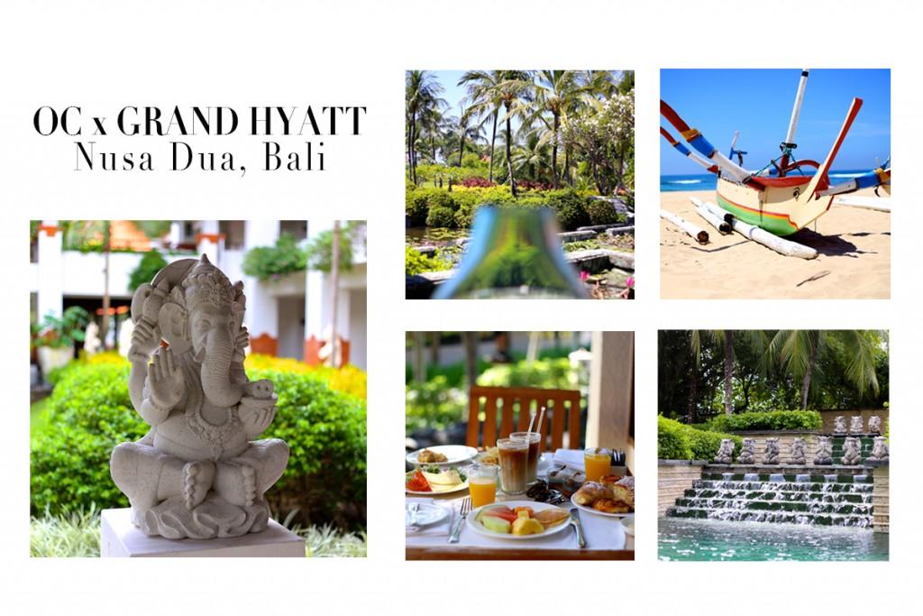 OC x Grand Hyatt Bali | Nusa Dua, Indonesia