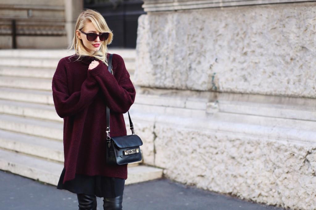 Aubergine & black | Milan