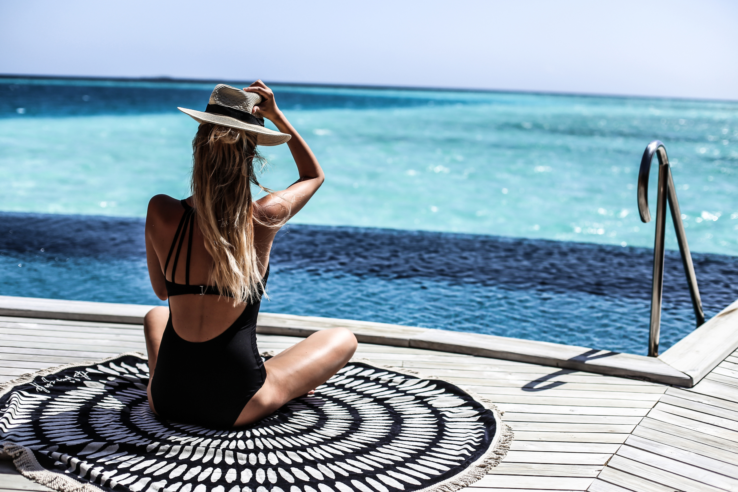 By the pool | Maldives