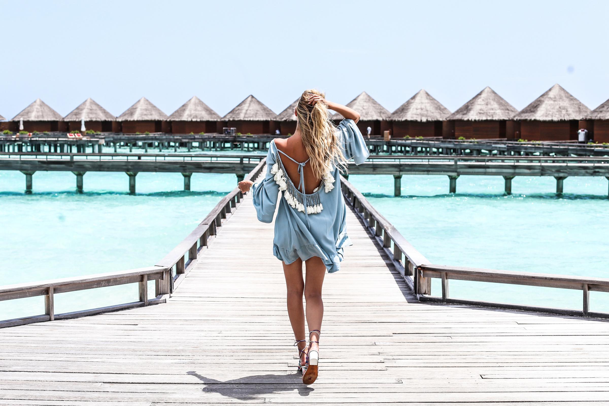 Rainbow sandals & tassles | Maldives