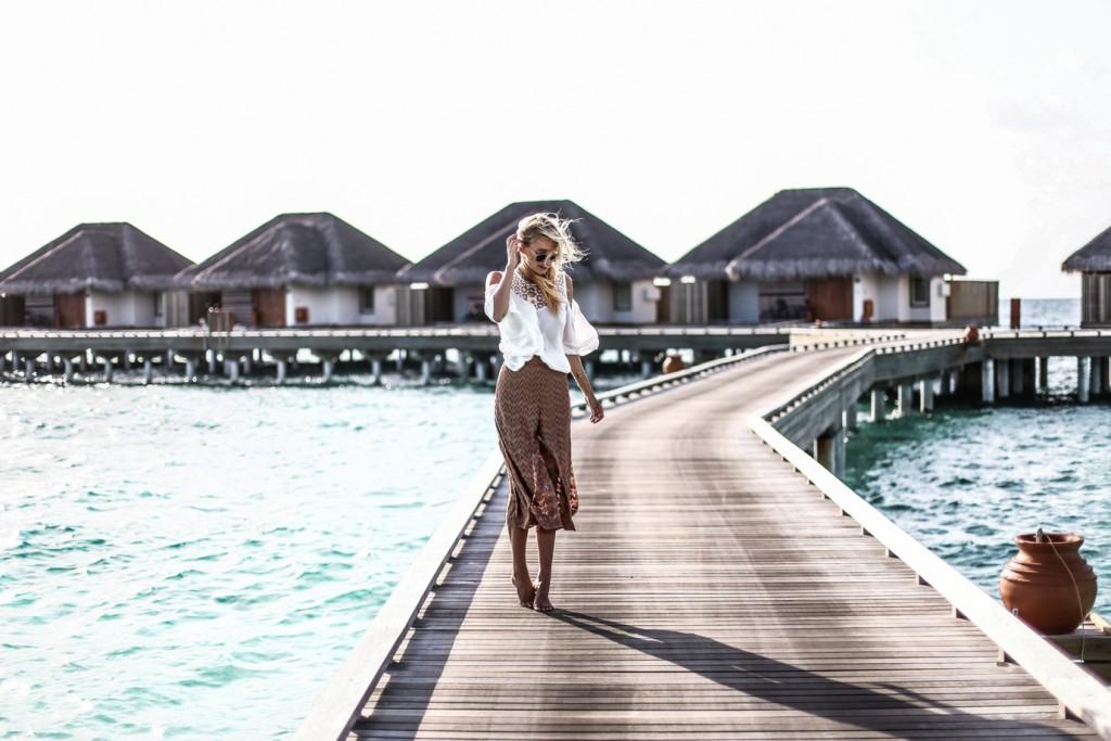 Summer lookbook |Maldives