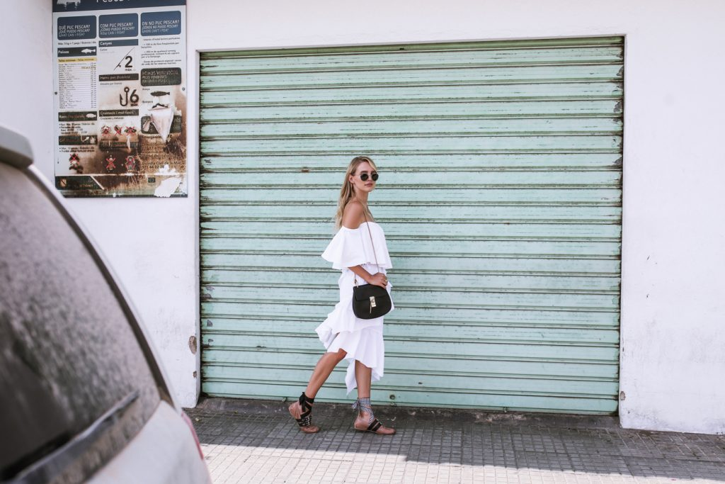 Ibiza All white MiuMiu ballerinas Chloe Drew ohhcouture_ – 1