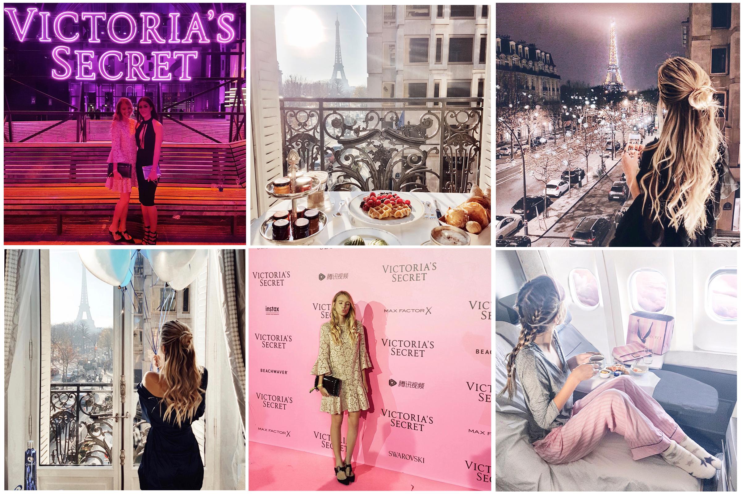 Victorias's Secret show   Paris