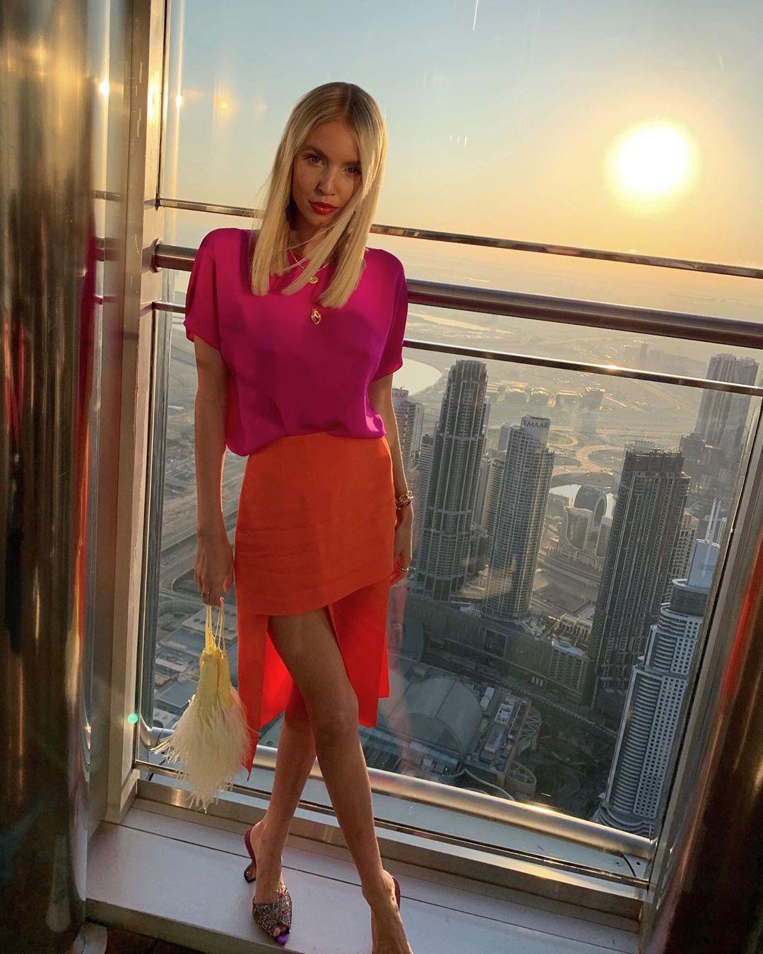 Leonie Hanne Burj Khalifa