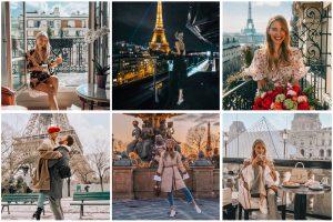 Monday Update Collage Paris