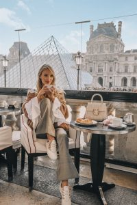 Coffee at The Louvre