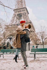 Leonie and Alex Eiffel Tower Image
