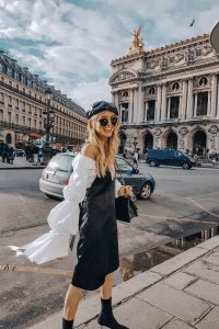 Krizia dress in Paris