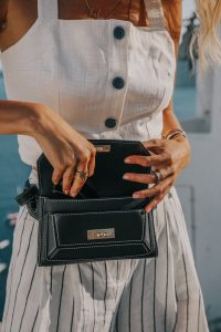 Black Bally belt bag Ohh Couture