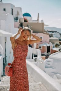 Ohh Couture Santorini style in red