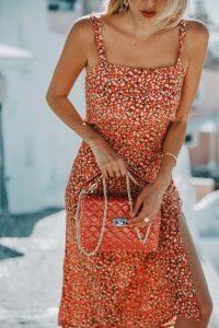 Red Valentino stud bag Santorini
