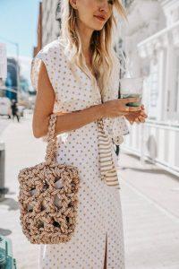 Rejina Pyo braided bag New York
