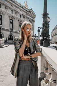 Leonie Hanne Balenciaga in Paris