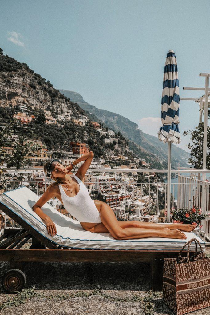 Dior Shoot in Positano