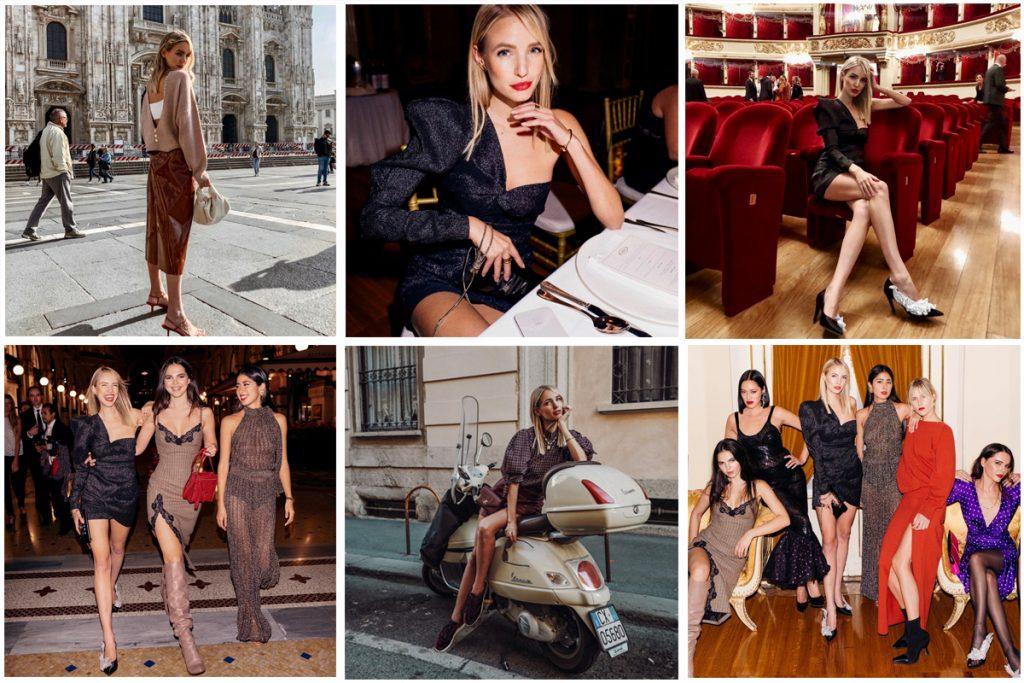 Milan weekly update collage