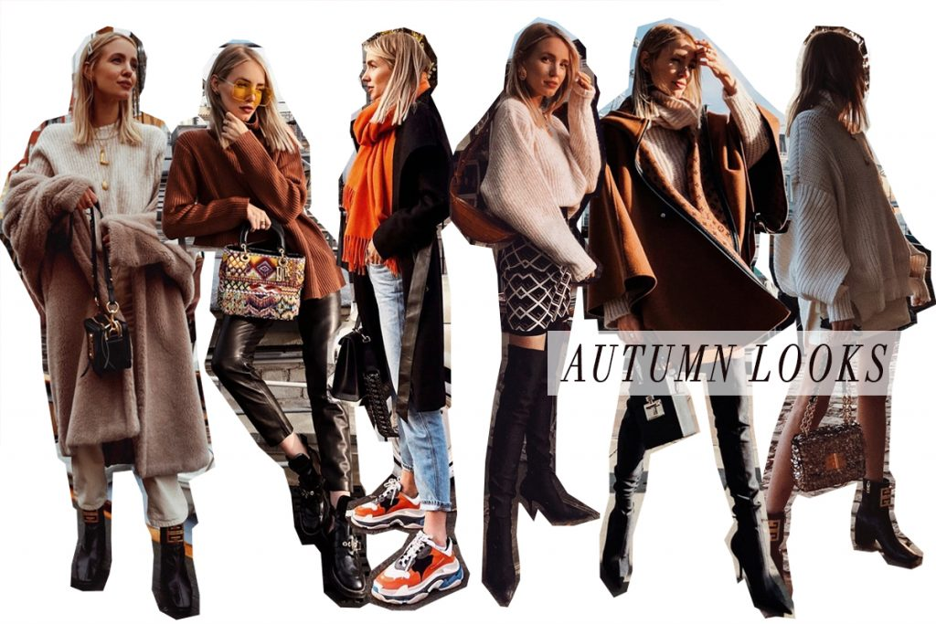 Leonie Hanne Autumn Looks collage