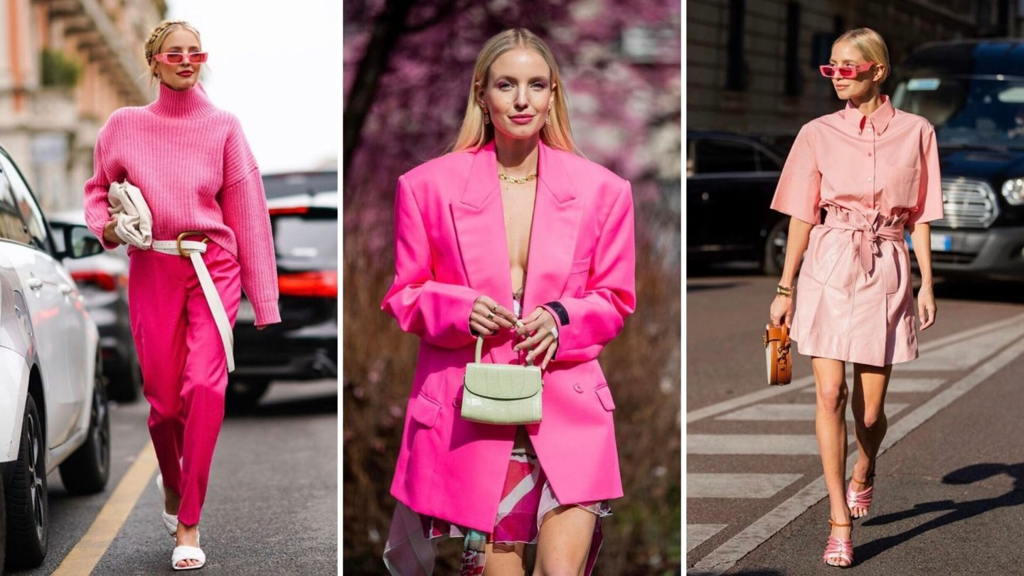Pink Outfit Ideas Collage