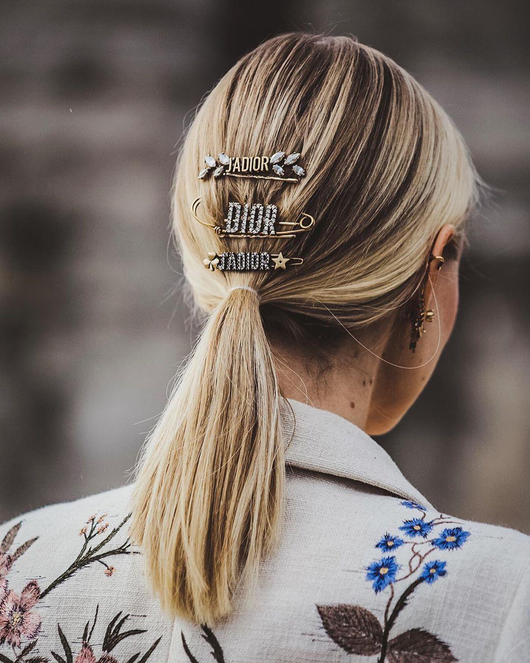 Dior hair accessories