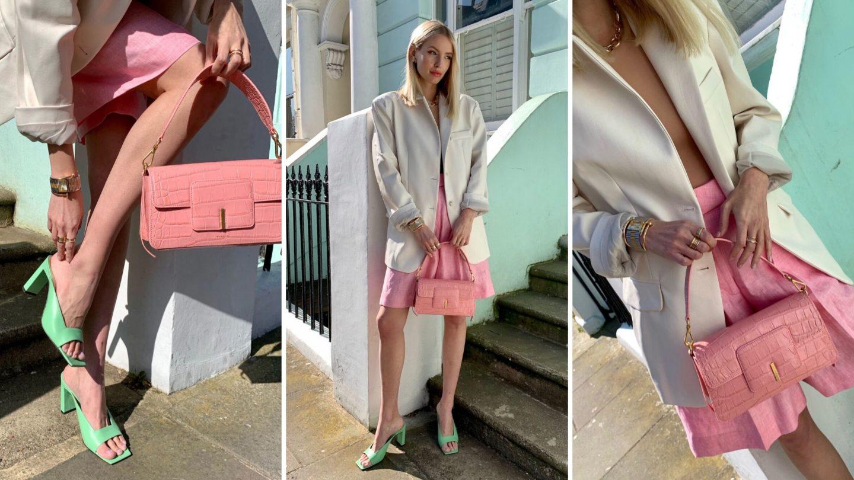 Leonie Hanne spring pastels collage