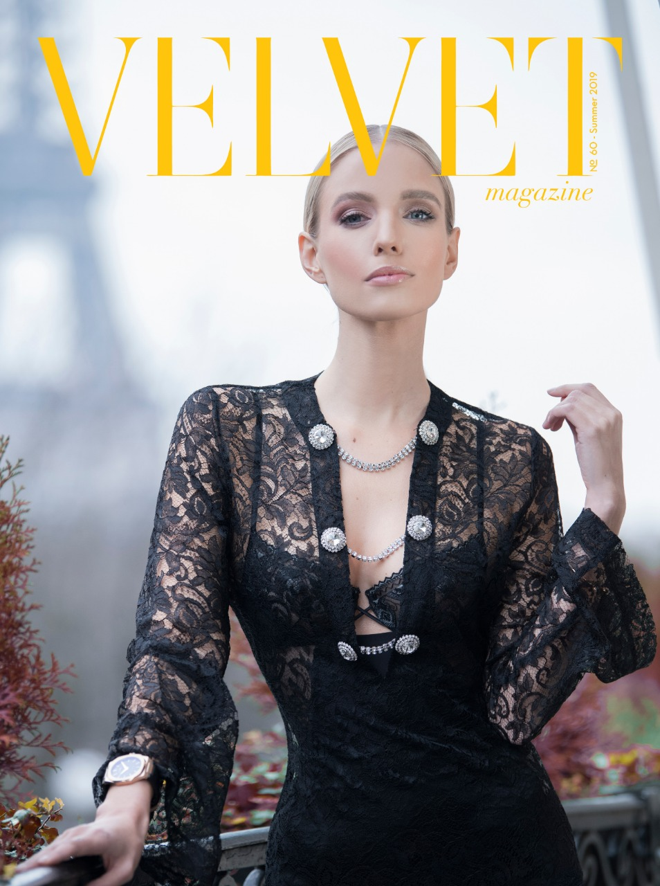 Leonie Hanne - Velvet Magazine Cover