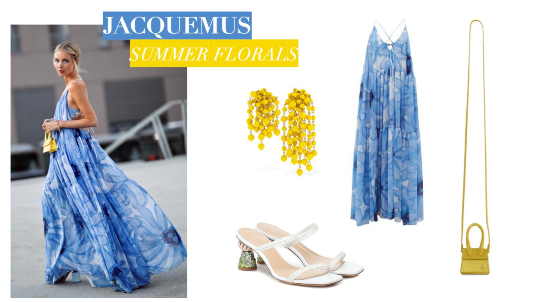 Jacquemus Summer Florals Collage 1