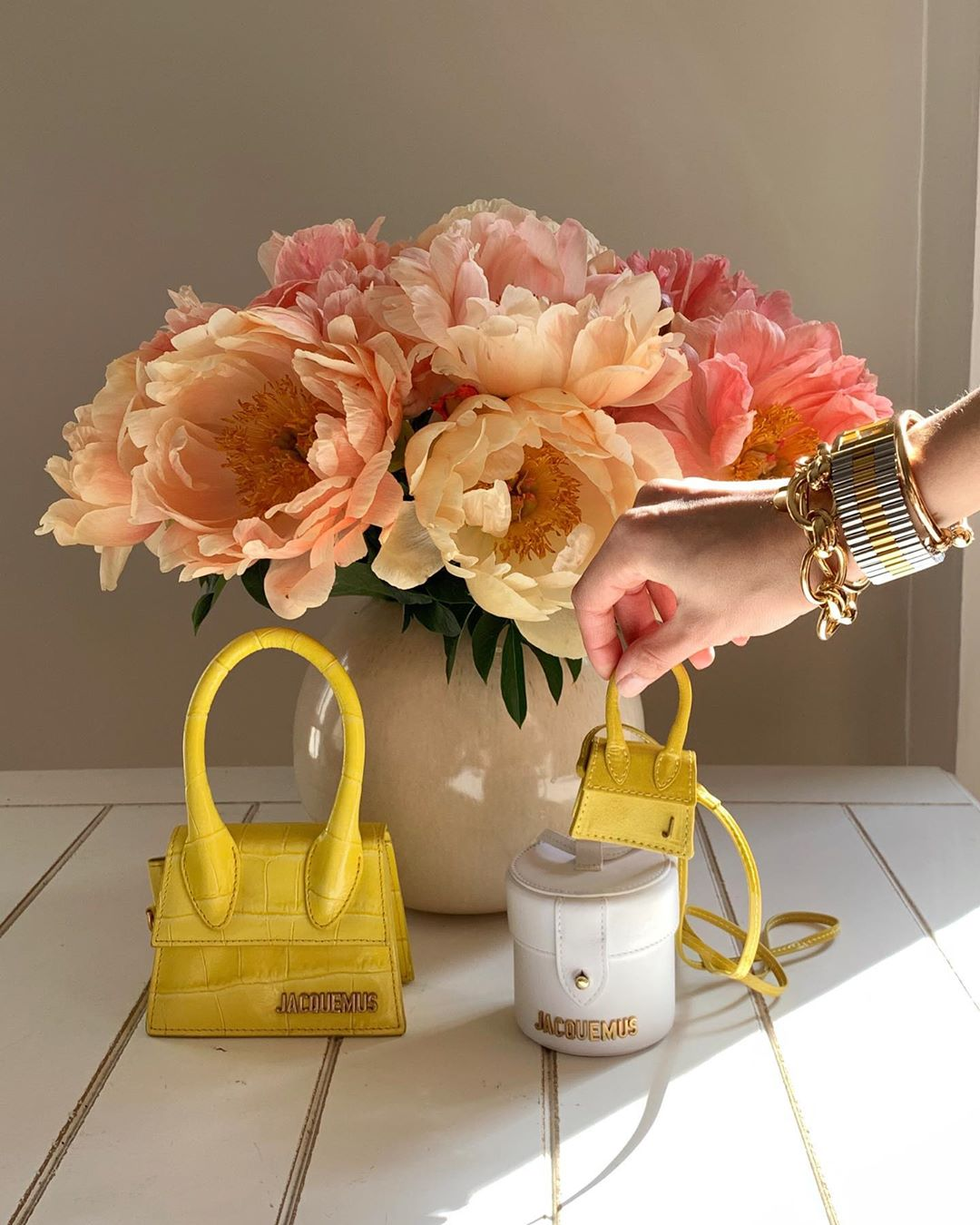 Spring Flowers and Colourful Accessories