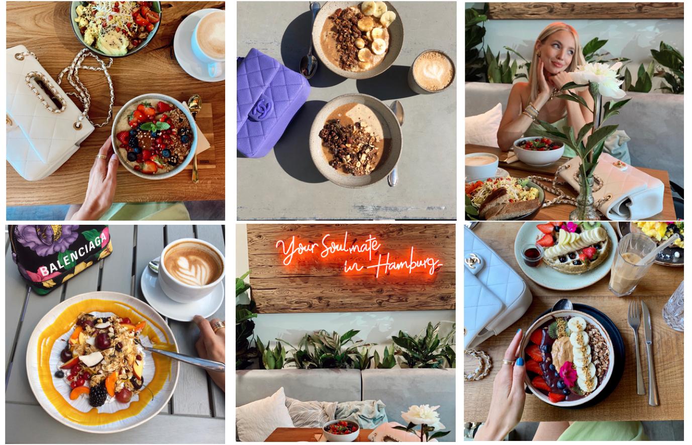 Hamburg Food Guide Collage
