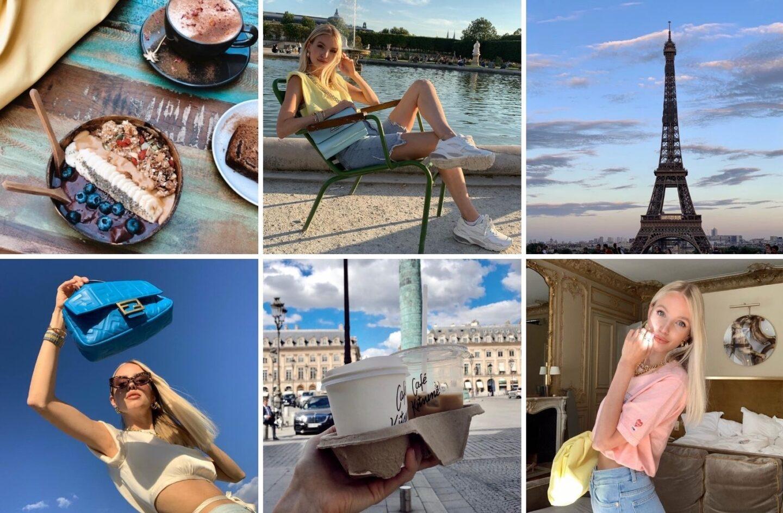 Paris July Collage