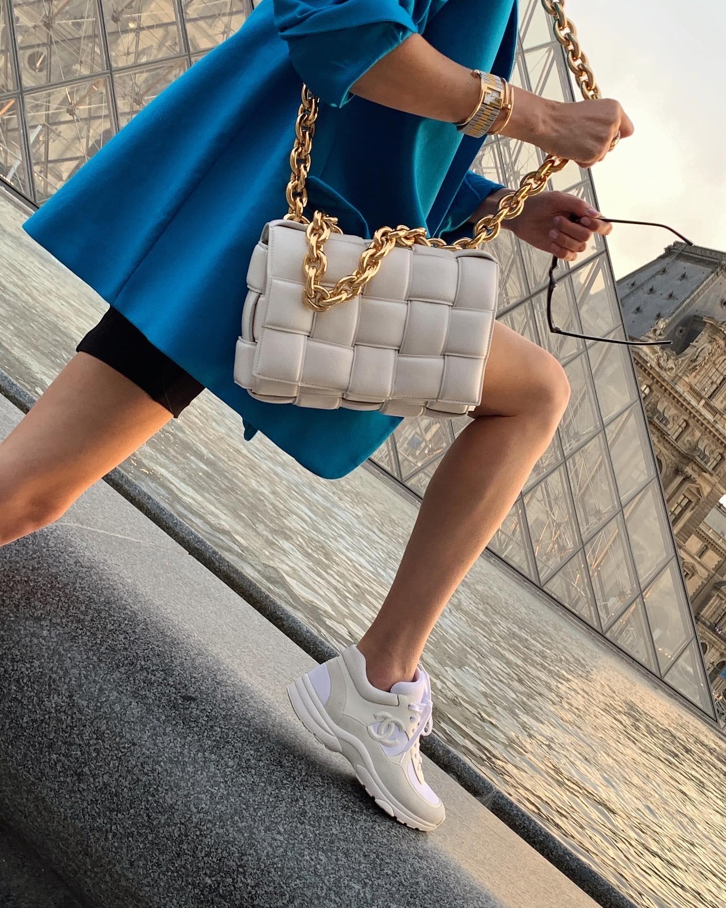 Bottega and Chanel accessories