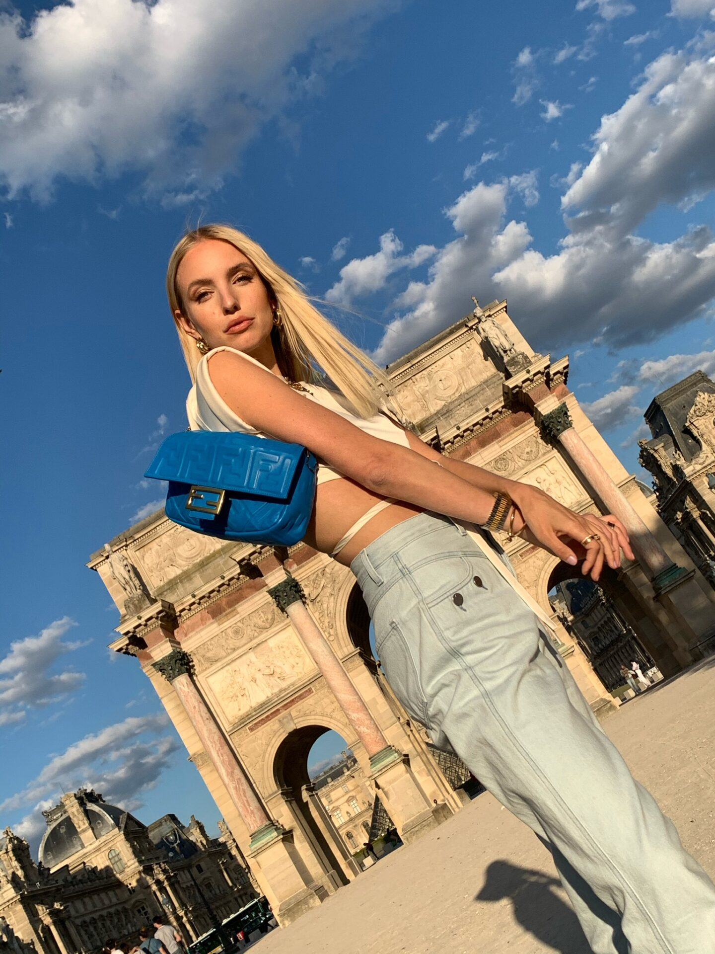 Fendi Baguette and Louvre