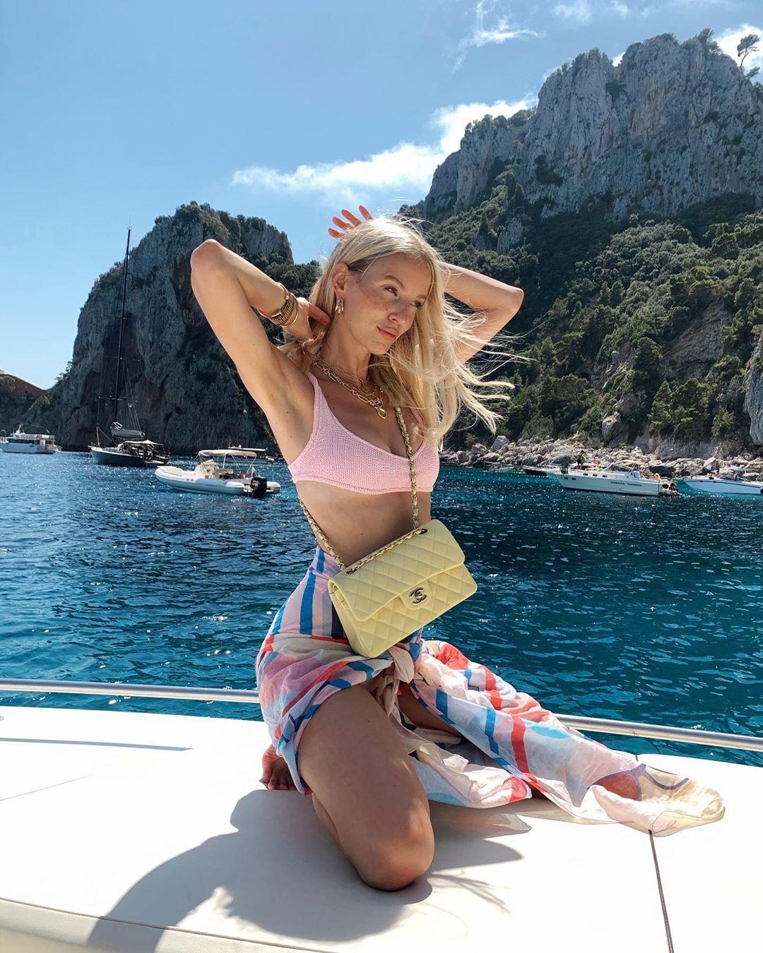 Birthday boat trip to Capri