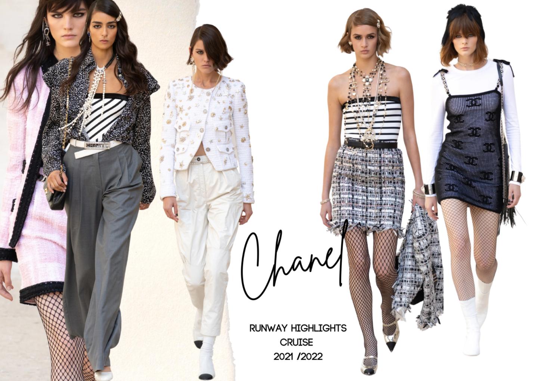 Chanel Cruise 21/22 Runway Highlights