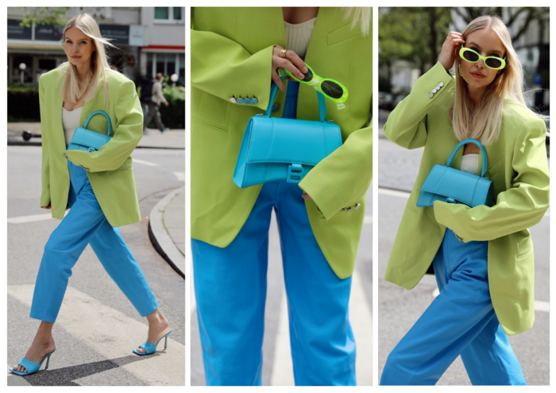 STREET STYLE | LIME X BLUE