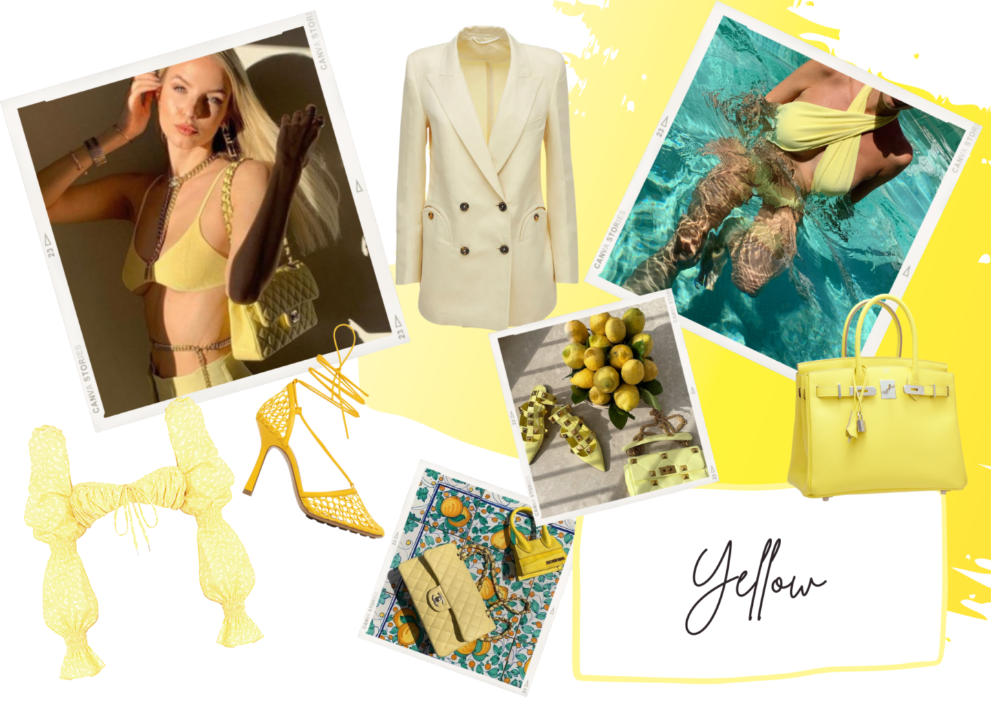 COLOUR MOODS   YELLOW